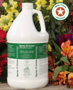 Spray n Grow gallon  3,78 Liter